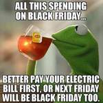 Black Friday - Electricity