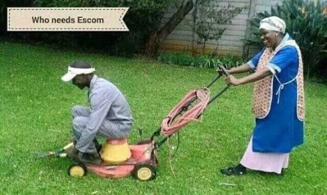 Electricity Free Lawnmower