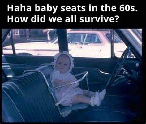 Baby seat in the 60's